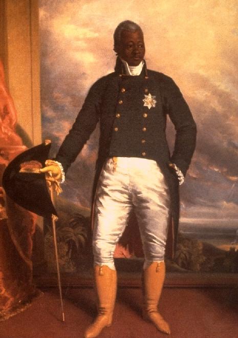 Известный портрет короля Гаити Анри I работы английского художника Ричарда Эванса