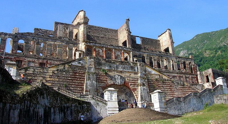 Дворец Сас -Суси на Гаити
