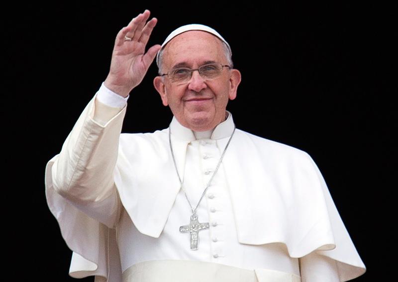 Понтифик Папа Римский Франциск. Фотоcatholic.by