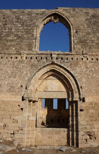 Монастырь Ганчвор, Кипр, окрестности Фамагусты, зона турецкой оккупации.