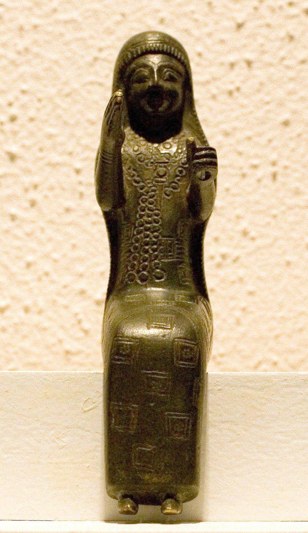 Фигурка богини Арубани. Ван,крепость Дарабей. VIII–VII вв. до н.э.