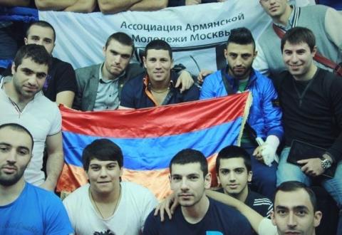 Молодежь Армении способна на скорые перемены во взглядах на жизнь. Члены Армянской Ассоциации молодежи Москвы (ААММ)
