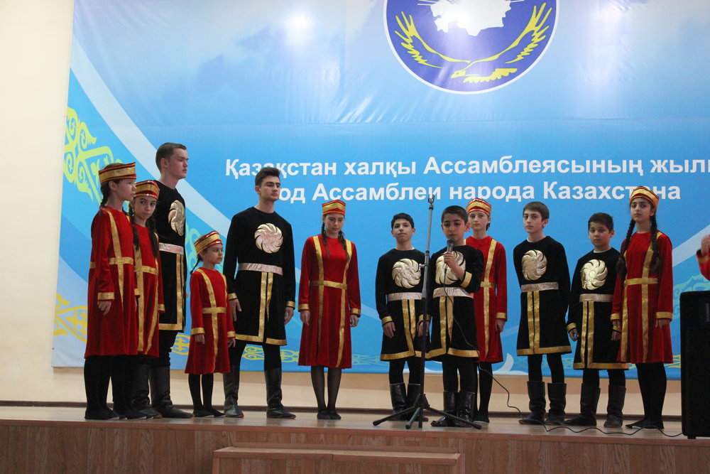 Из жизни армянской общины Казахстана. Фото из личного архива Александра Карапетяна.