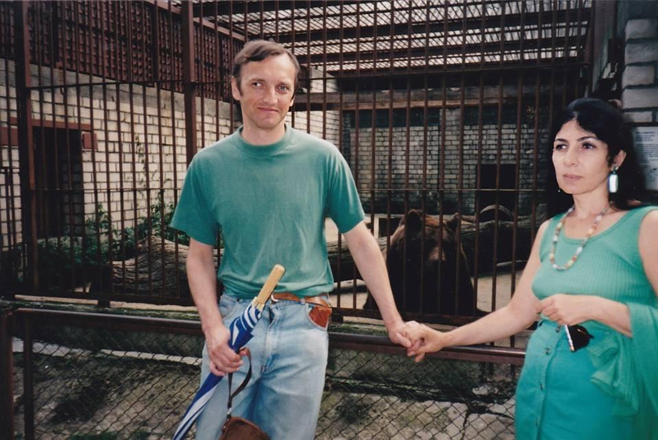 Супружеская пара - поэты, писатели Калле Каспер и Гоар Маркосян-Каспер