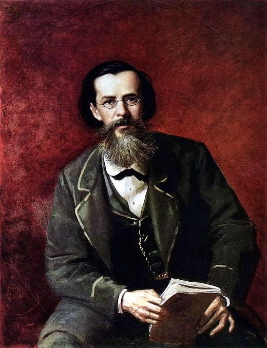 Василий Перов. Портрет А.Н. Майкова, 1872