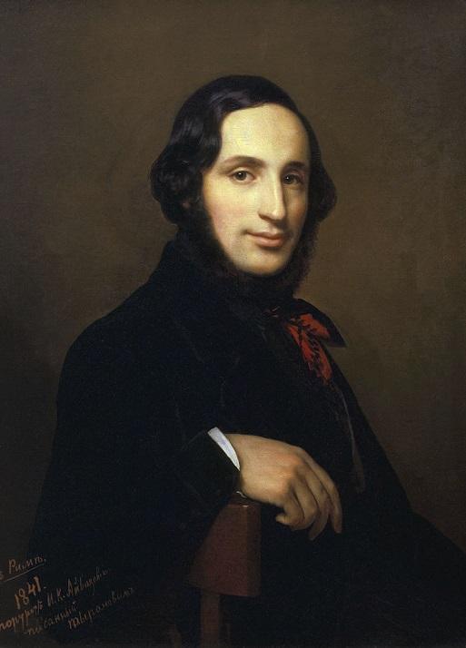 АлексейТыранов.Портрет И.К. Айвазовского,1841