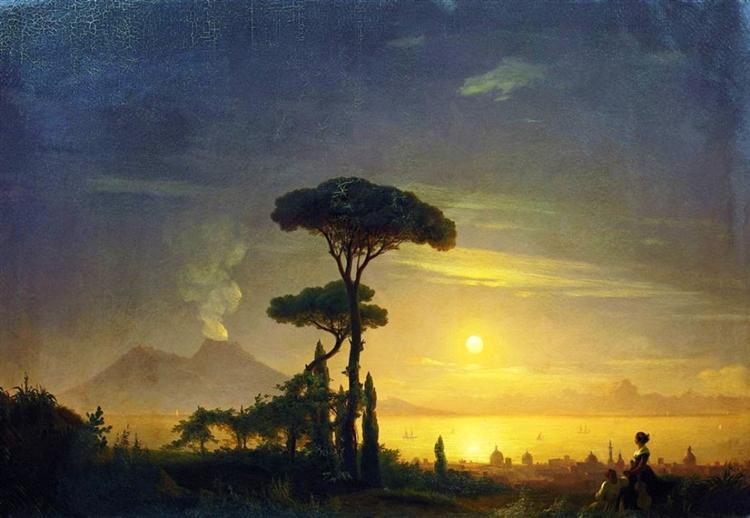 Иван Айвазовский. Неаполитанский залив, 1845