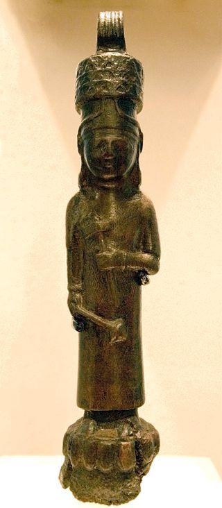 Фигурка богаТейшебы.Кармир-Блур.VIII–VII вв. до н.э.