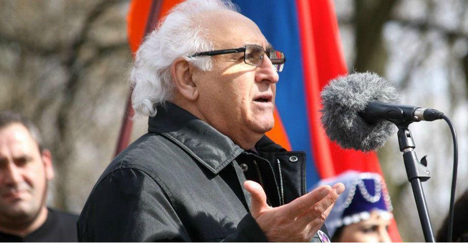 Рафик Григорян - известный филолог, один из лидеров армянской общины Эстонии. Фотоarmeniasputnik.am