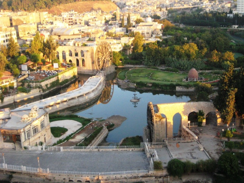 Сирийская Гама (Хама) до начала войны. Фотоhttp://vipgeo.ru