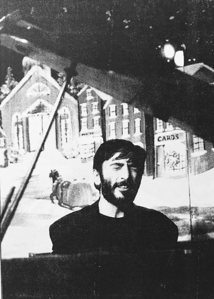 Давид… Фото из архива сестры музыканта Парандзем Азарян.
