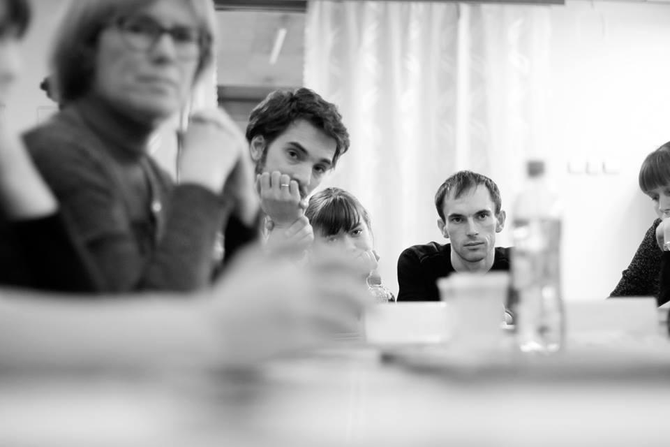 Виктор Цатрян на Форуме молодых писателей. Фото Софья Ремез