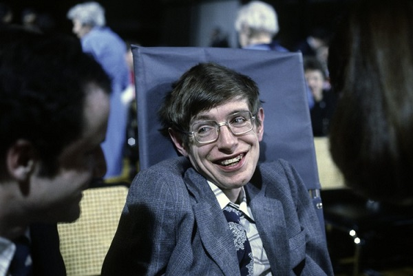 Стивен Хокинг. Фото 1979 года