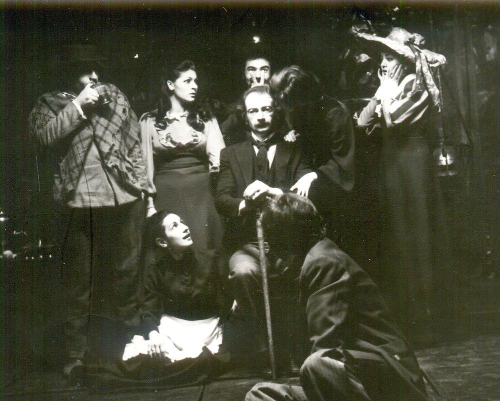 "В роли Серебрякова в ""Дяде Ване"" по пьесе А.П. Чехова (фото из семейного архива)"