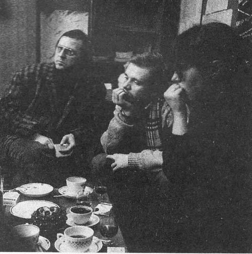 Ленинградские кинематографисты. Фото С. Кацева. Фото seance.ru