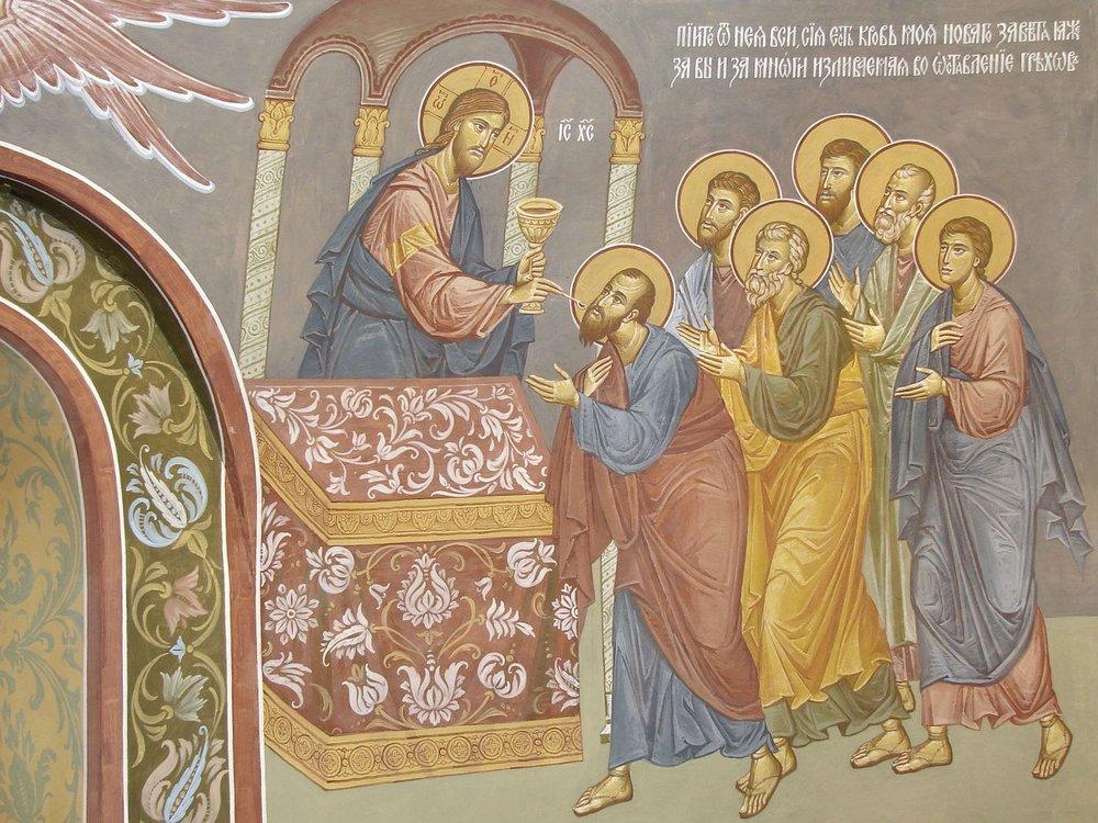 Фрагмент росписиХрама святой великомученицы Варвары. Толгский монастырь.Фото:unionart76.ru