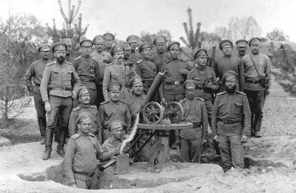 Воины-участники Сарыкамышской операции. Фотоrussia-armenia.info