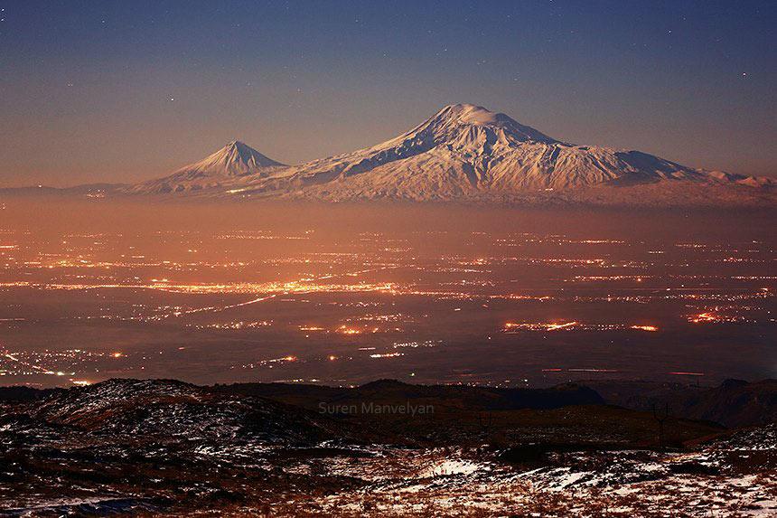 Армянство пытается разглядеть сквозь туман забвения путь к некогда безграничному солнечному Армянскому миру Фото about-planet.ru
