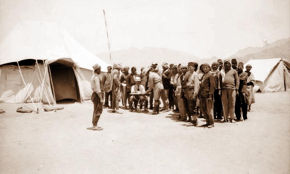 Армянские добровольцы записываются в Восточный легион, 1918 год (http://www.iwm.org.uk)