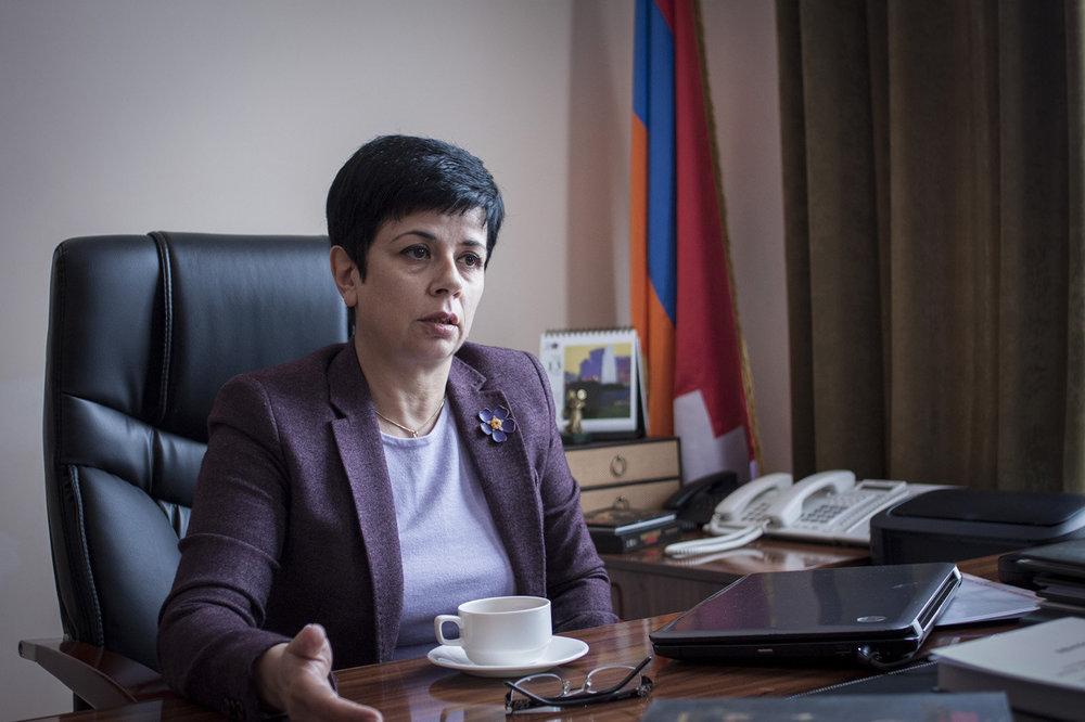 Министр образования, науки и спорта РА Наринэ Агабалян. Фото Спутник-Армения