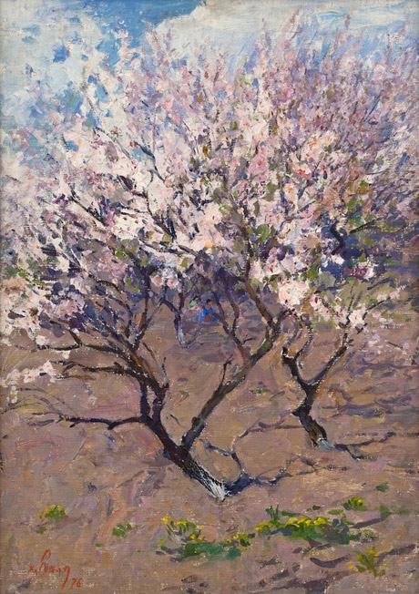 Хачатур Есаян.«Абрикосовое дерево»,1976