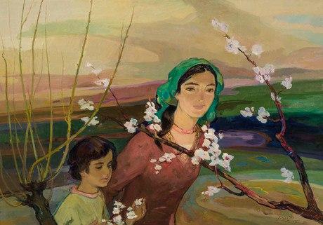 Бабкен Колозян. «Весна», 1977