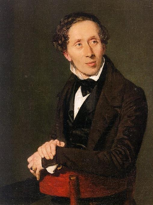 Христиан Альбрехт Йенсен.Портрет Андерсена,1836