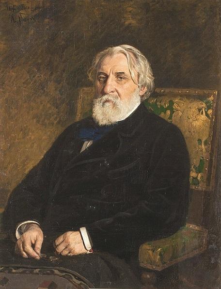 ИльяРепин. Портрет писателя Ивана Сергеевича Тургенева,1874