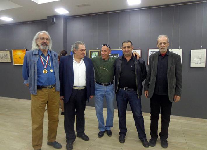 Павел Джангиров, Сукиас Торосян, Араик Оганян, Арсен Геворкян, Арутюн Самуэлян