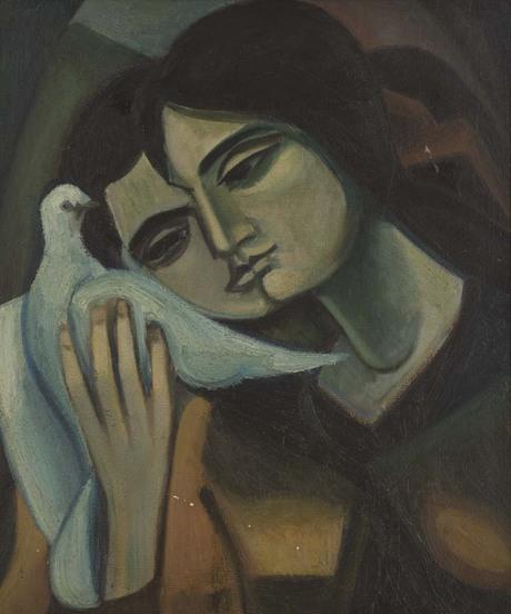 Геворг Григорян (Джотто). «Весна», 1960.Национальная галерея Армении