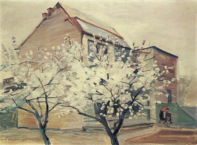 Мартирос Сарьян. «Весна в моем саду», 1945