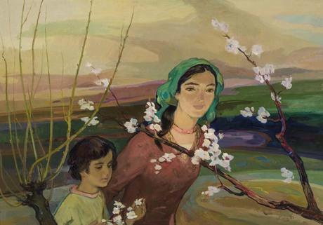 Бабкен Колозян.«Весна», 1977.Национальная галерея Армении