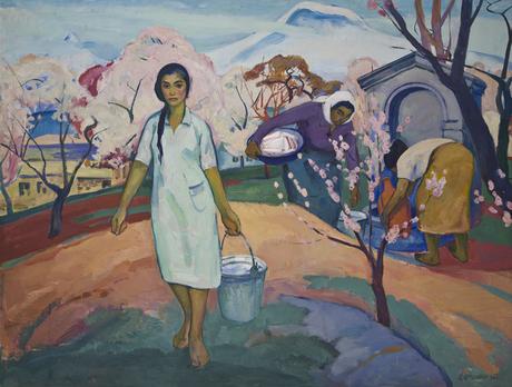 Завен Аршакуни. «Весна», 1960.Национальная галерея Армении