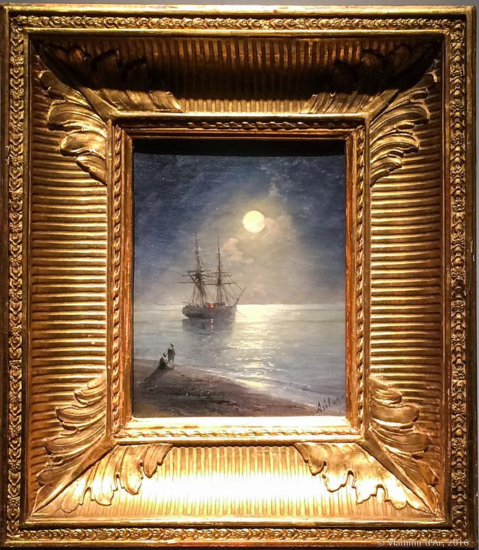 Ночной пейзаж - 1899 год.