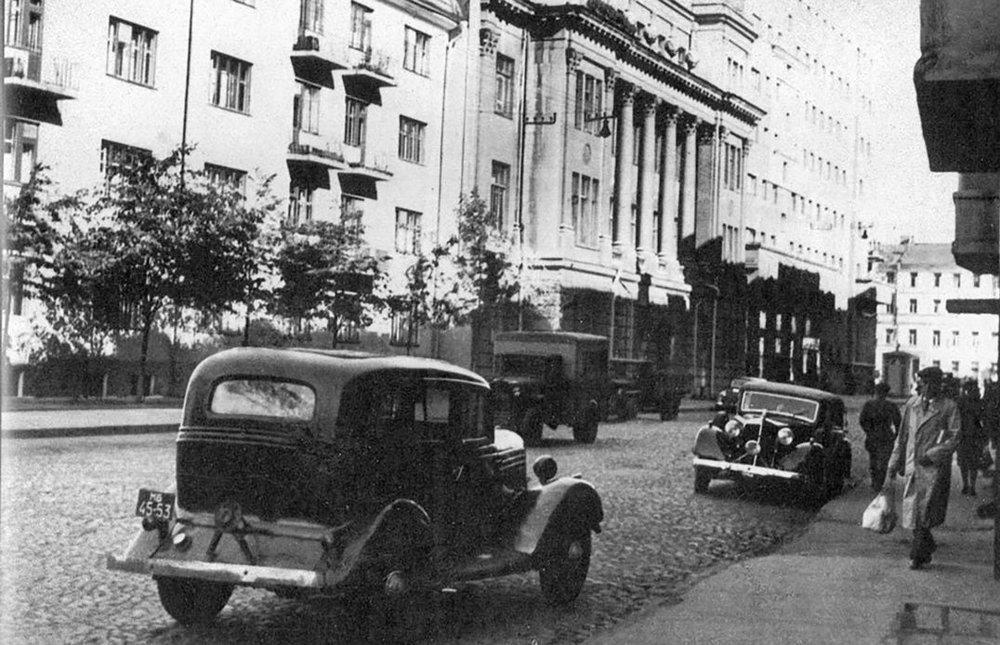 Ананьевский переулок, 1947 год. Доходный дом Натальи Ивановны Шах-Паронянц
