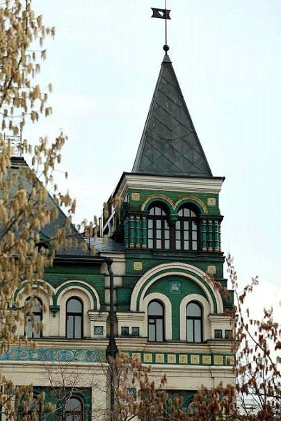 Доходный дом Миансаровой (Дом с изразцами)