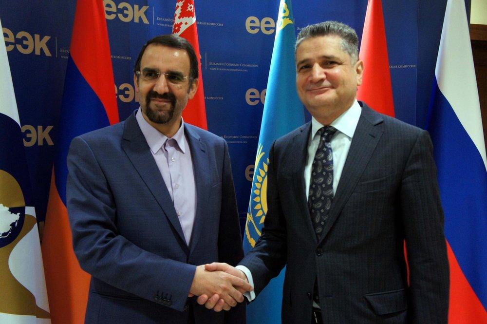 Евразийский экономический союз (ЕАЭС) и Иран завершают подготовку соглашения о создании зоны свободной торговли. Фото golosarmenii.am