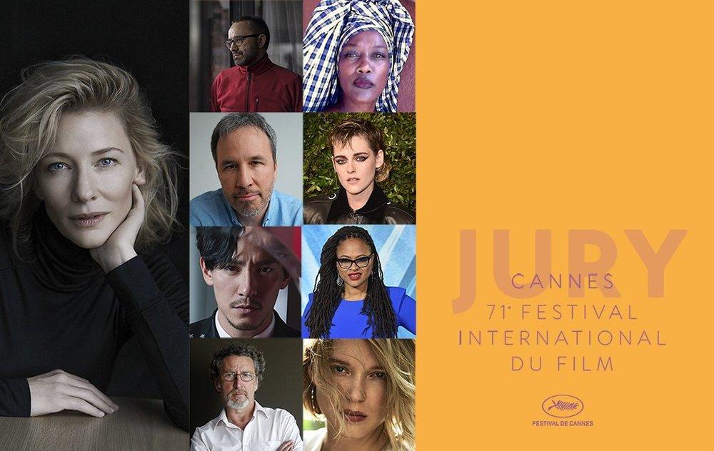 Состав жюри 71-го Каннского кинофестиваля