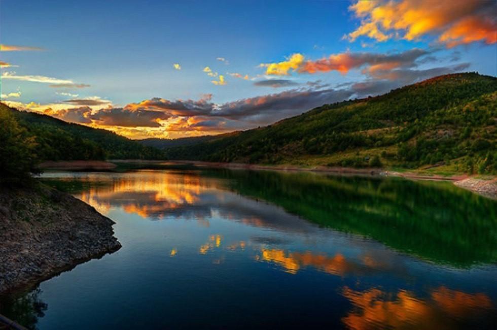 Златарское озеро - одно из природных достопримечательностей Сербии. Фотоhttp://itd3.mycdn.me