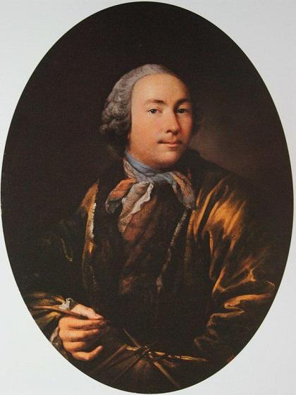 Иван Аргунов. Автопортрет, конец 1750-х – начало 1760-х
