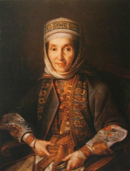 Иван Аргунов. Портрет А.И. Лазаревой, 1769