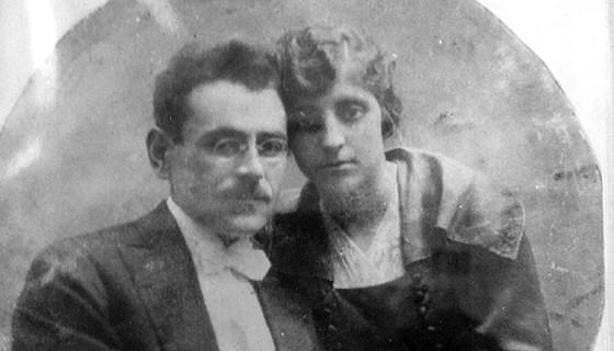 Степан и Гоарине Масчан