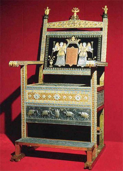 Алмазный трон царя Алексея Михайловича