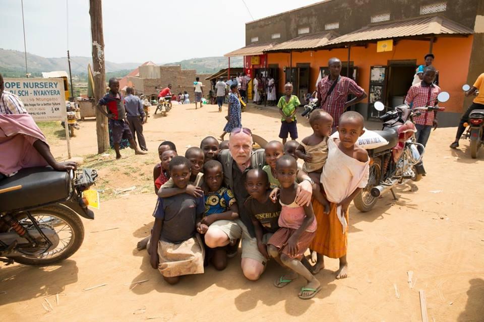 Либор Спимр в Уганде