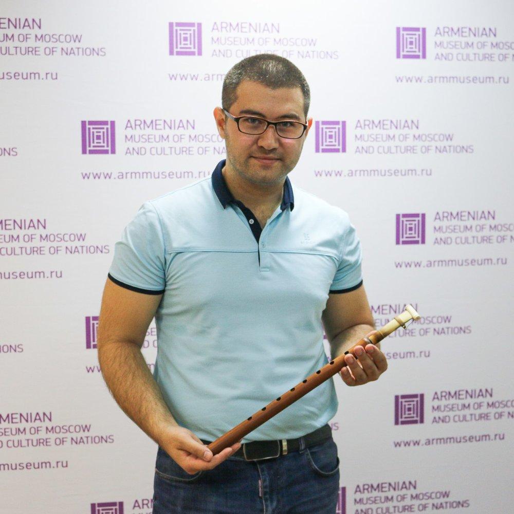 Сурен в гостях у Армянского музея Москвы и культуры наций