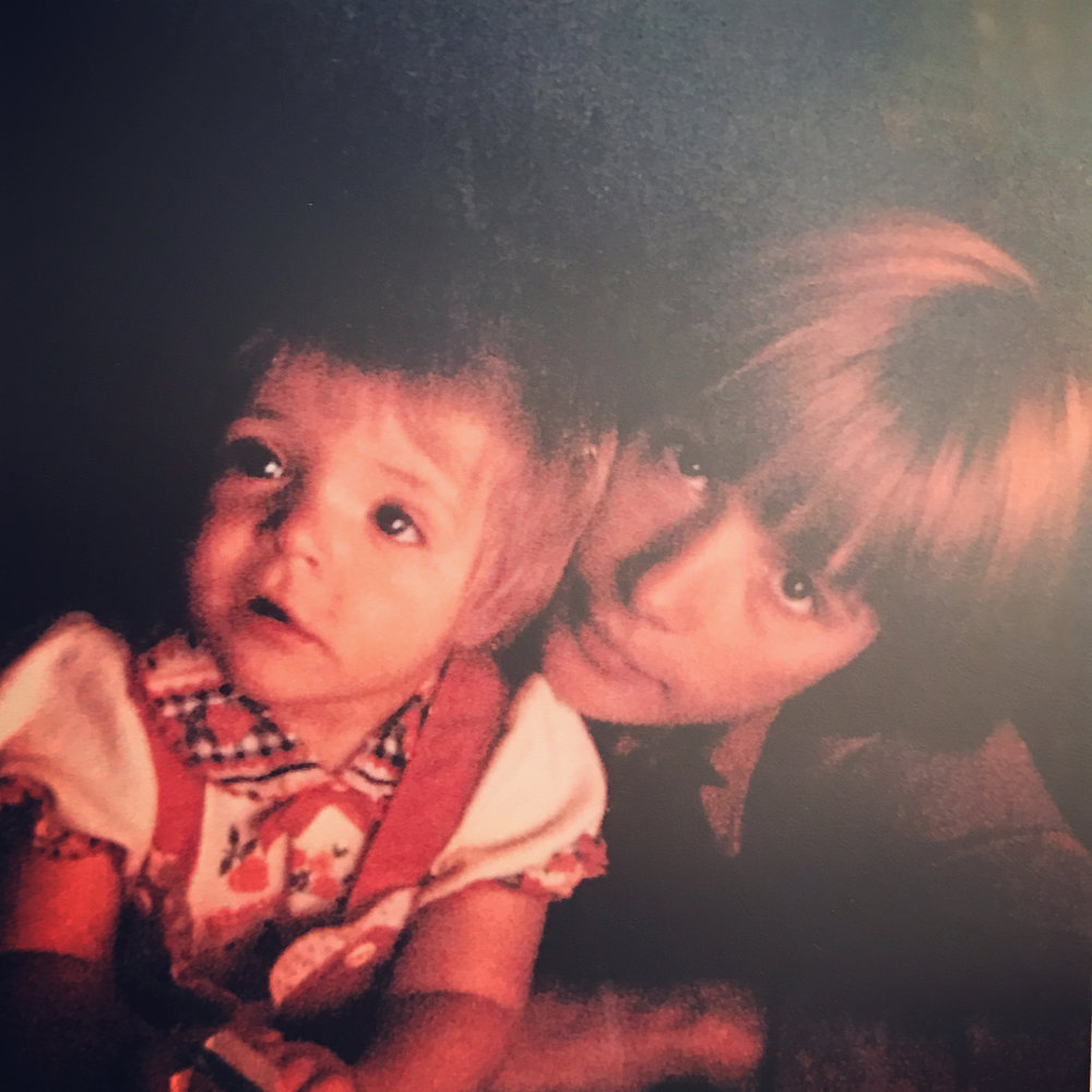 Вера Глаголева с маленькой Аней