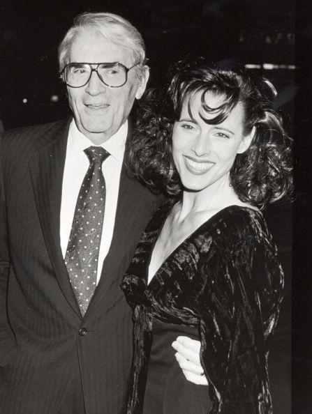 Грегори Пек со своей дочерью