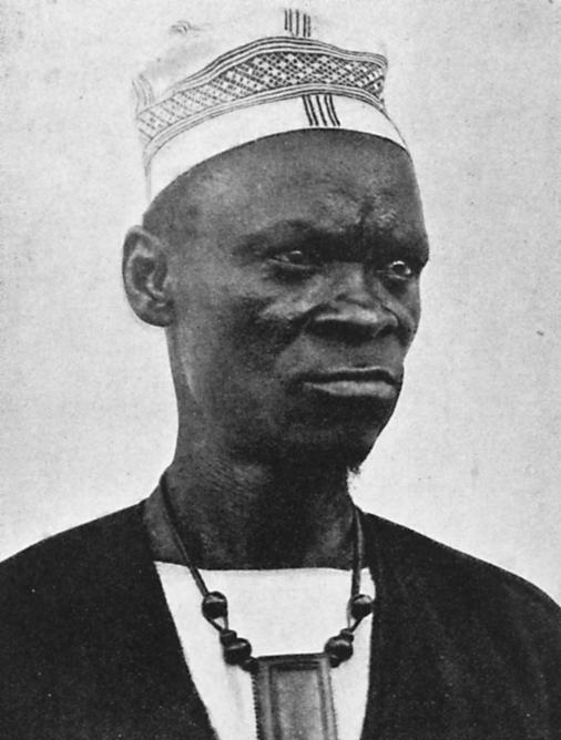 Вождь племени бага Коба (1914)
