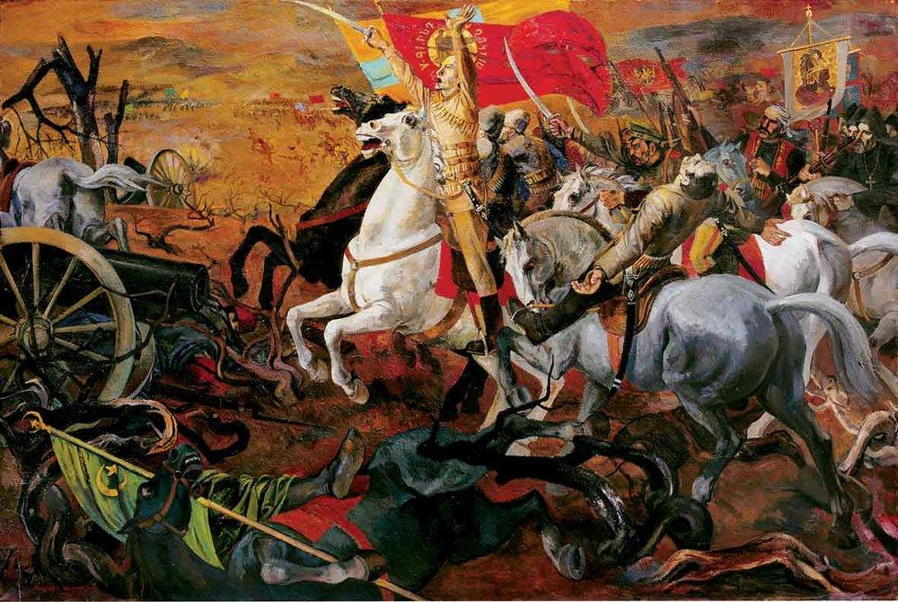 Саркис Мурадян.Сардарапатское сражение,1977