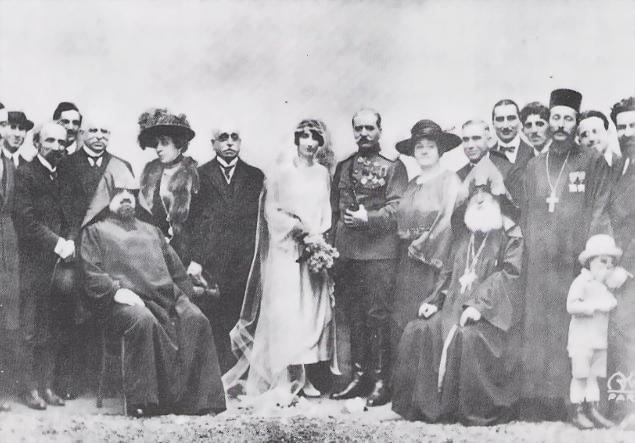 Свадьба Андраника в Париже. Весна, 1921
